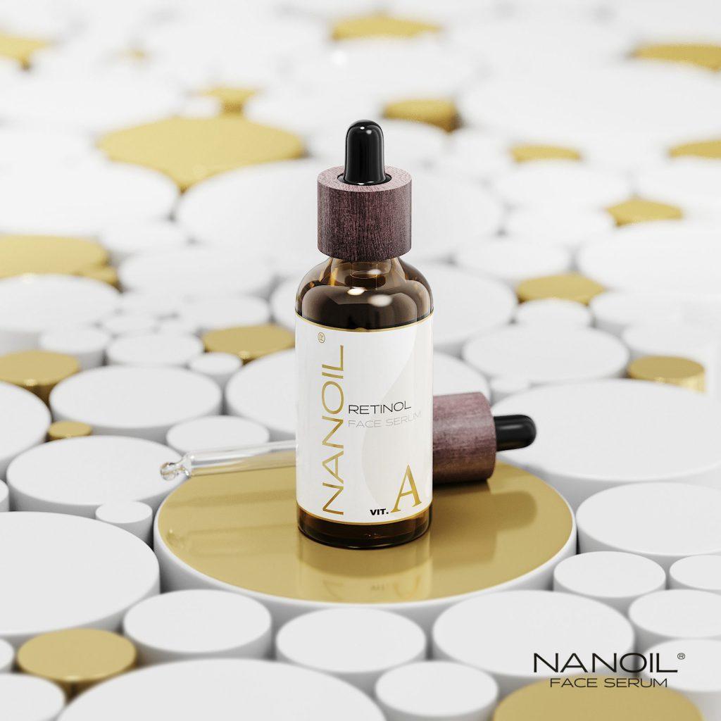 favourite face serum with retinol Nanoil
